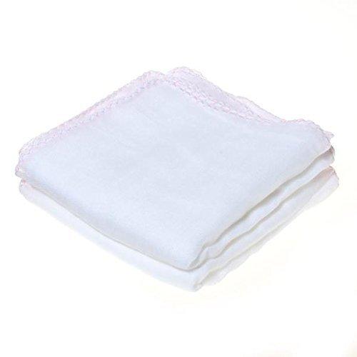 NO:1 Baumwolle Gesichts-Reinigung Musselin Tuch Make-up reinigen Handtuch für babyrosa