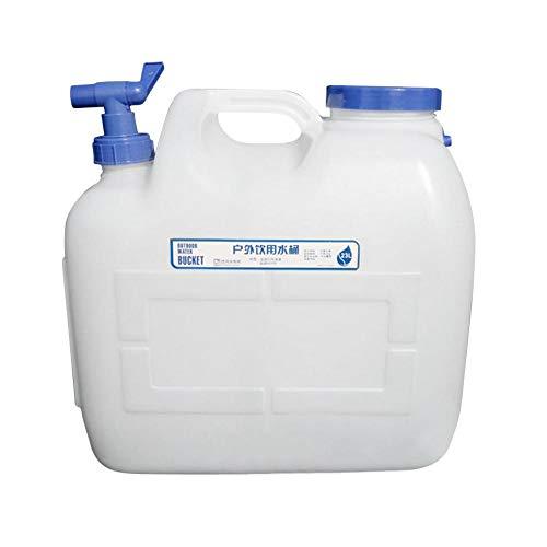 Hearthrousy - Bidón de Agua (23 L, antigoteo, sin BPA, Reutilizable, plástico)