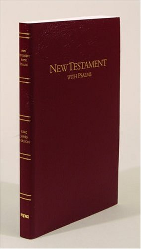 Large Print New Testament with Psalms: King James Version