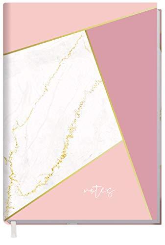 Notizbuch A5 liniert [Mosaik Marmor] von Trendstuff by Häfft | 126 Seiten | ideal als Tagebuch, Bullet Journal, Ideenbuch, Schreibheft | nachhaltig & klimaneutral
