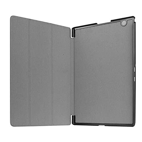Adecuado para Sony Tablet Z4 Tablet PC cubierta protectora Z2 Z3 tres pliegues plana funda-azul_Tablet Z4