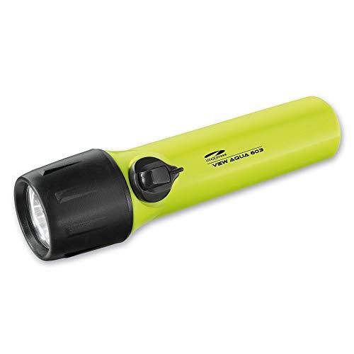 LiteXpress LXL15000W4 Taschen/Taucherlampe View Aqua 603, 250 Lumen, Kunststoff, 16.6 cm, Gelb/Schwarz