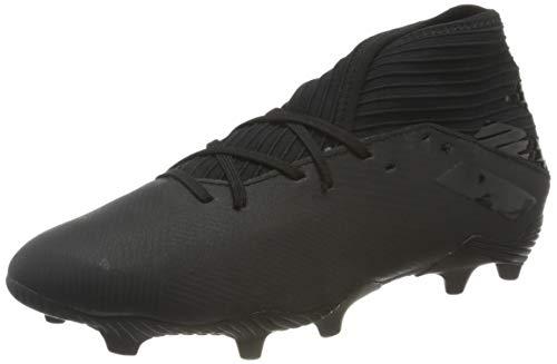 adidas Nemeziz 19.3 FG, Scarpe da Calcio Uomo, Core Black/Core Black/Utility Black, 42 EU