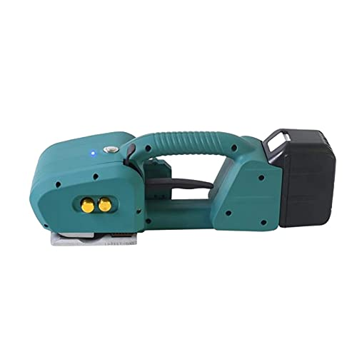 HAOGUO Electric Strapping Machine Portable Electric Welding Packaging Tool, 6000mAH for Used in Paper Industry Packaging Logistics Packaging, Etc