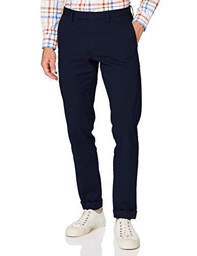 Brooks Brothers Herren Pantalone Sportivo Kompressionshose, Marineblau, 36W x 34L