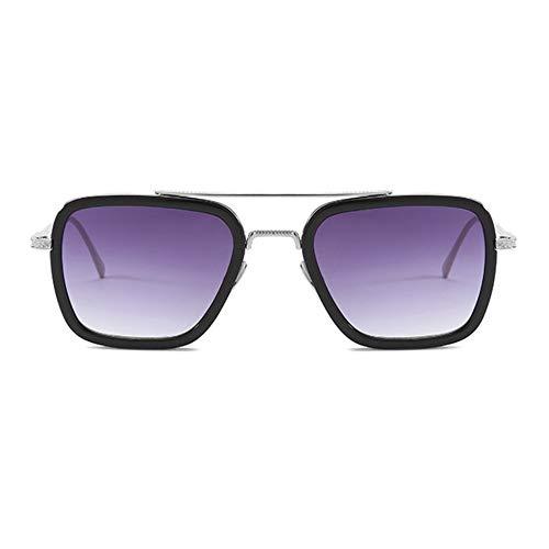 Libertroy Película con las mismas gafas de sol Caja de moda europea...