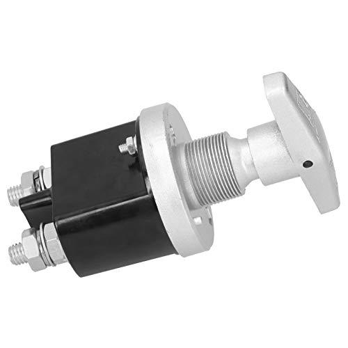 Interruptor de Corte, desconexión de batería de aleación de Aluminio y ABS fácil de Instalar, para Piezas industriales Suministros industriales
