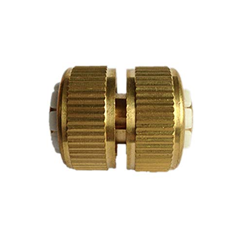 Xuulan Xianglaa-Water Pipe Connector, 12mm Garden Lawn Water Hose Pipe Fitting Connector Joiner Mender Repairer, Hardware Accessories