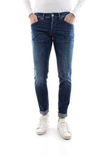 Dondup Herren Jeans George Skinny Fit Blue (82) 32