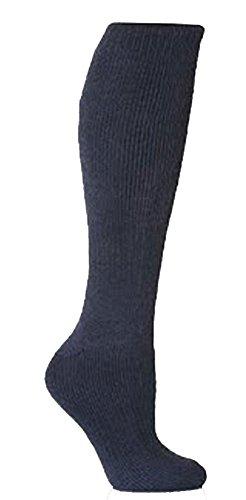 Socks Uwear Herren Socken für den Alltag Socken, Einfarbig Schwarz Schwarz Large