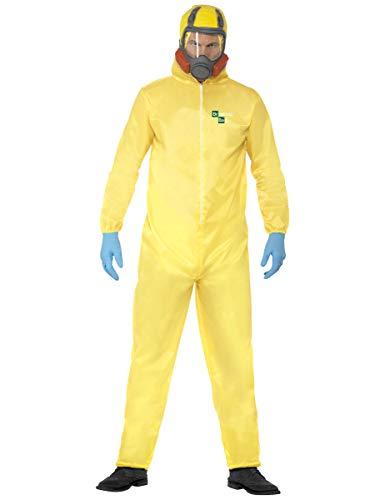 KULTFAKTOR GmbH Breaking Bad Heisenberg Kostüm Lizenzware gelb L