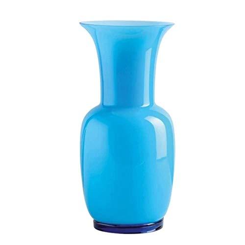 Venini Vase Opalino 706.38 aquamare