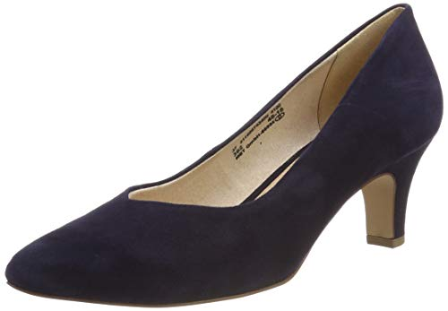 bugatti Damen 411685743400 Pumps, Blau (Dark Blue 4100), 38 EU