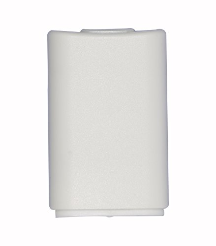 Timorn Replacement Battery Cover for Microsoft Xbox 360 Wireless Controller-White 2pcs