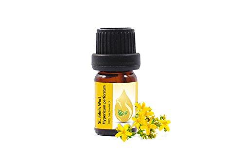 Johanniskraut (Hypericum perforatum) 100% naturreines ätherisches Öl (10ml) Johanniskrautöl, Spitzenqualität aus dem eigenen Familienbetrieb, therapeutische Qualität