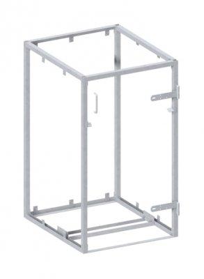 Unbekannt BINTO Mülltonnenbox Grundgestell Metall