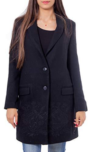 Desigual Mantel Abrig RAMAL schwarz 19WWEW62 (36)