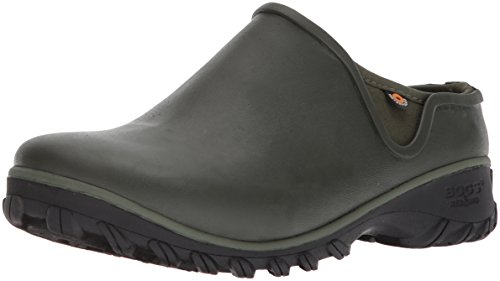 BOGS Women's Sauvie Chelsea Waterproof Garden Rain Boot, Sage, 8 Medium US