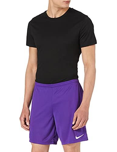 Nike Gardien III League, Pantaloncini da Calcio Uomo, Viola Corte/Bianco/Bianco, M