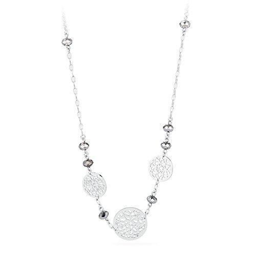 Halskette Frau in Stahl mit Swarovski Steinen Brosway BAB03