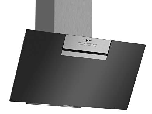 Neff D85IEE1S0  Dunstabzugshaube schräg N30 / 80 cm /  B / Abluft oder Umluft / EfficientDrive / TouchControl/ Edelstahl