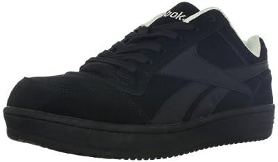 Reebok Work Men's Soyay RB1910 Safety Shoe,Black Oxford,13 W US