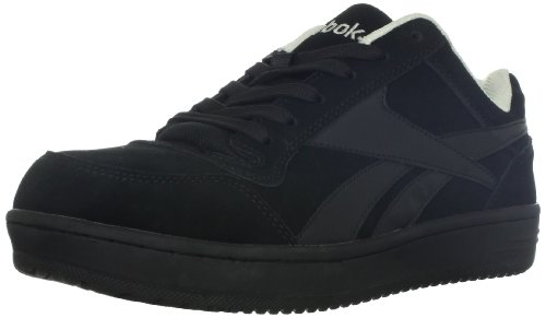 Reebok Work Men's Soyay RB1910 Safety Shoe,Black Oxford,10 M US