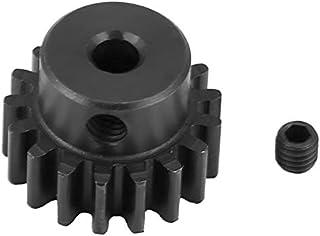 CROSYO 1pc 17T 0,8 Module métallique de Remplacement Pinion Gear Moteur Accessoires Pièces for HIMOTO E10MTL / E10MT / E10...