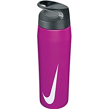 Nike Sports Bottle TR Hypercharge Straw Bottle 24oz Digital Pink//Anthracite