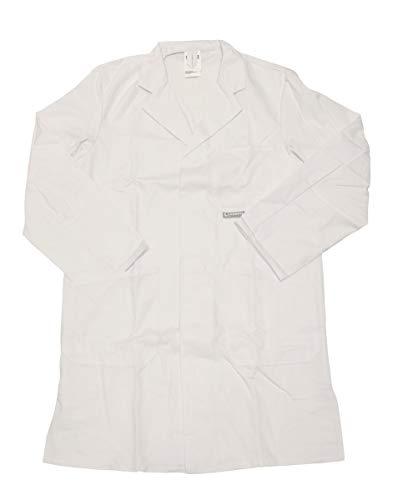 Schuerzenfabrik Herren Berufsmantel Arbeitskittel Kittel Mantel 3/4 lang Baumwolle/Polyester, Farbe:Dessin 5, Größe:52
