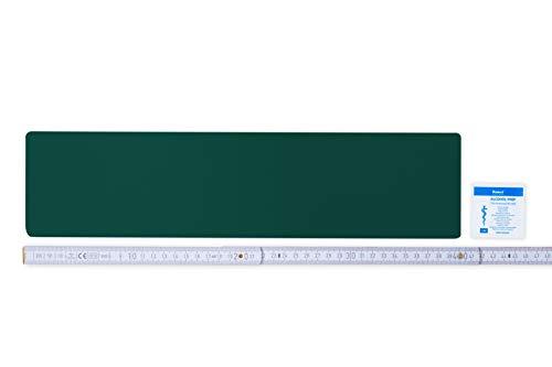 Flickly Anhänger Planen Reparatur Pflaster | in vielen Farben erhältlich | 40cm x 10cm | SELBSTKLEBEND (moosgrün)