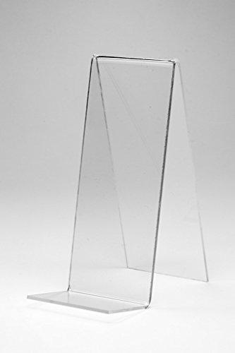 10 Stück Buchaufsteller,Buchstützen,Buch Ständer,Warenpräsenter aus Acrylglas