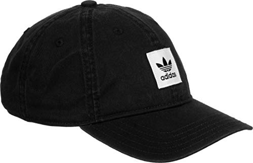 adidas Washed Dad Kappe, Black, OSFM