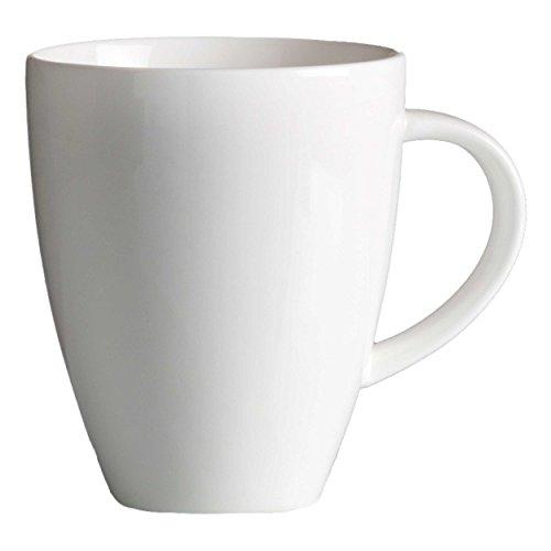 Ritzenhoff & Breker Melodie Kaffeebecher, Kaffee Becher, Tasse, Geschirr, Porzellan, Weiß, 300 ml, 580020