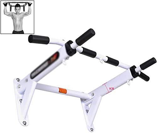 TXOZ-Q Aptitud Pull-up Equipo de Cubierta Horizontal Pull-up Bar Bar Paralelo Inicio Bares Sandbag Estante de múltiples Funciones del Equipo (Color : White)