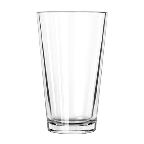 4 Pack - 16 Ounce Beverage Glass