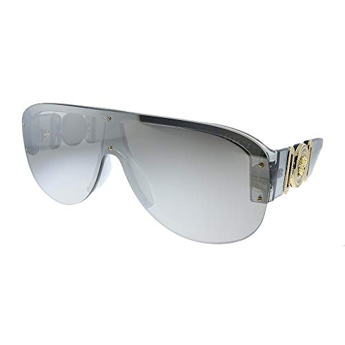 Versace Ve4391 - Gafas de sol para hombre, transparente, gris (311/6G)