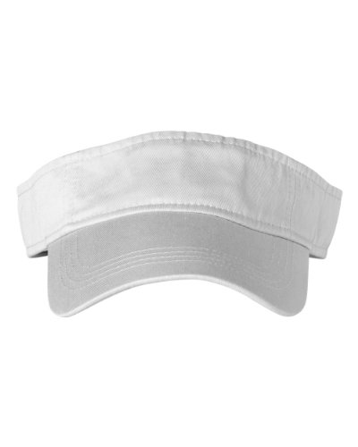 Anvil Anvil: Solid Low-Profile Twill Visor 158, Größe:One Size;Farbe:White