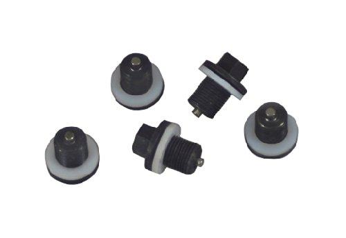 Lisle 58650 Plug and Gasket for Oil Pan Plug Rethreading Kit, Set of 5