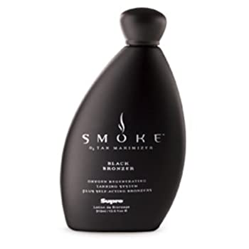 Supre Smoke Black Bronzer Tanning Lotion 10.5 ounce