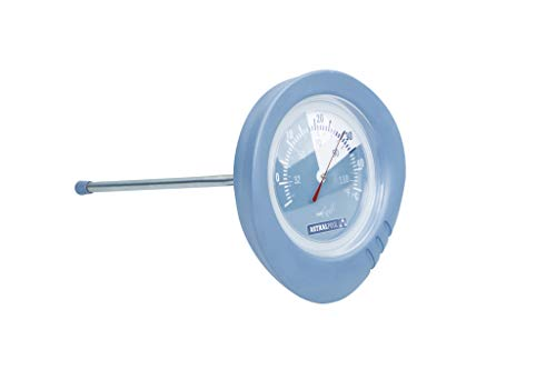 Astral Pool Rundthermometer Analog aus der Shark Serie/Poolthermometer Schwimmbadthermometer