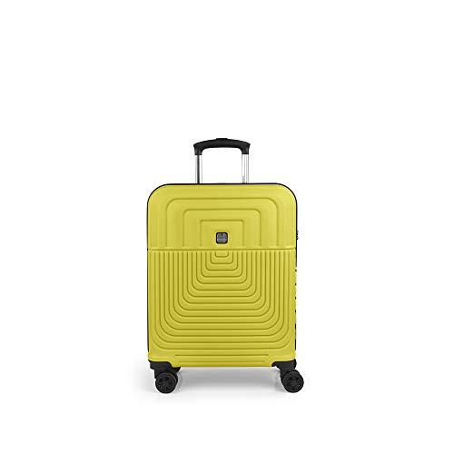 Gabol - Ego | Maleta de Cabina Dura de 40 x 55 x 20 cm con Capacidad para 37 L de Color Lima