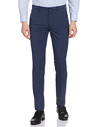 Arrow New York Men's Formal Trouser Fitted Pants