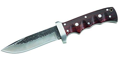 Herbertz Gürtelmesser, 81 Lagen Damast, Kernlage 420 Stahl Messer, Mehrfarbig, One Size