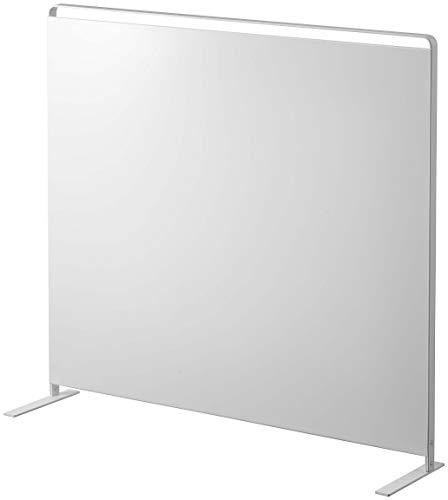 山崎実業(Yamazaki) キッチン 自立式 スチールパネル 縦型 ホワイト 約W56XD14XH51.5cm タワー 浮かせる収納 簡単取り付け 5124