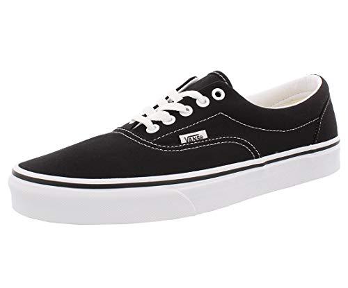 Vans Unisex-Erwachsene Era Classic Canvas Sneakers, Schwarz (Black BLK), 39 EU