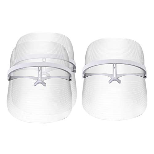 Amagogo 3 / Pack 3 Couleurs LED Masque Facial Anti-rides Anti-acné Blanchissant Dispositif