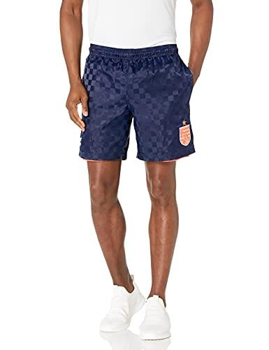 Umbro Pantalón Corto Reversible Coral Studios X para Hombre, Coral Studios X Pantalón Corto Reversible de Tablero de ajedrez, Azul...