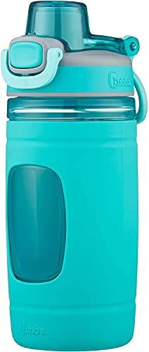 bubba Flo Water Bottle, Kids, 16 Ounce, Aqua, Limited edition