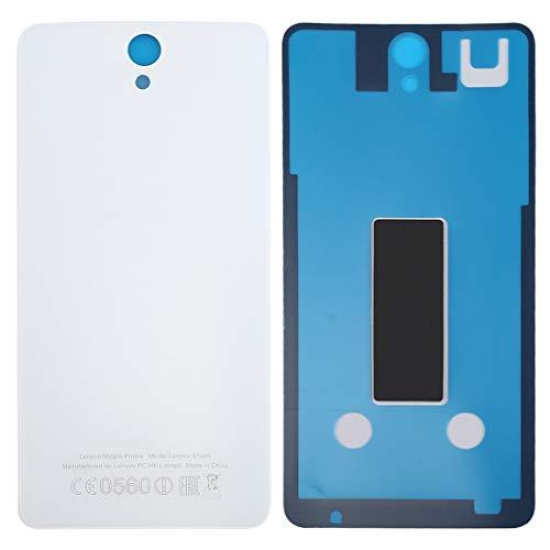 Liluyao Partes móviles Lenovo Vibe S1 / S1a40 Batería Trasera (Color : Blanco)
